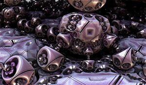 violet metallic bulbs by Andrea1981G