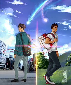 Your Name IWAOI by Jeannette11