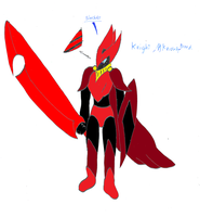 Slasher the knight known breed by pd123sonic