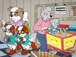 Shopping Day by tugscarebear