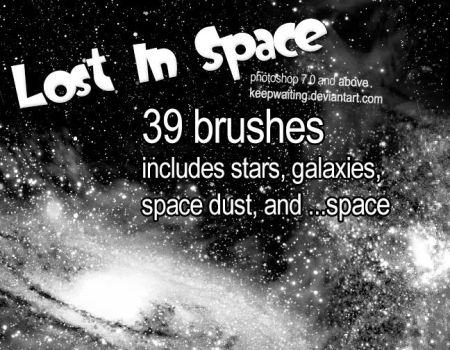 Lost In Space Brushes - PS7+ by KeepWaiting