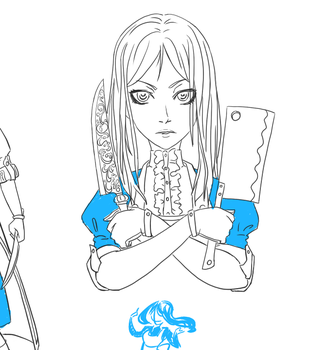 American McGee's Alice - Alice by AlexandraVent