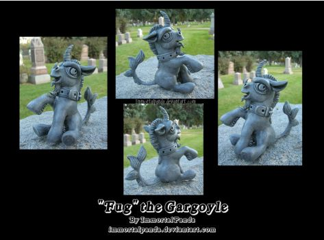 Fug the Gargoyle by ImmortalPanda