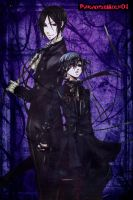 Black Butler by Paradisewolf01