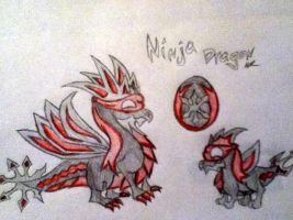 My DragonVale Ninja Dragon by Shadowstar146