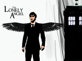 Lonely Angel - Tenth Doctor by spiritofthebeast