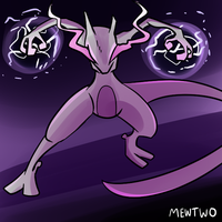 Pokedex Month DAY 25 -MEWTWO- by AndrewMartinD