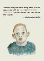 good things about being blind-christopher duffley by yokum123