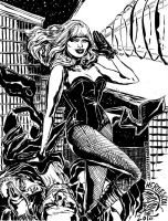 HeroesCon Black Canary by mysteryming