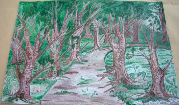 Enchanted Forest by QueenZelanda
