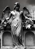 Jewish Cemetery Angel-Edit by TheArtOfSadness