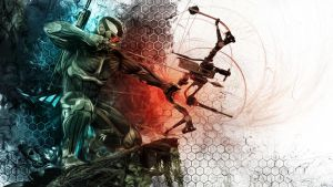 Crysis 3 - Predator Wallpaper by TheSyanArt