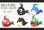 Bird Puffs Adopts + Customs [open] by junkshopheibon