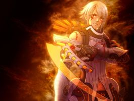 Haseo Xth Form Wallpaper by brioche-of-destiny