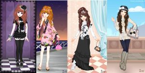Fashion Dress Up Game Play by Heart4Skies
