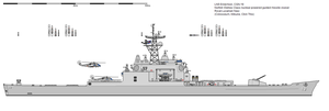 Norfolk-Welkes class guided missile cruiser by Click-This