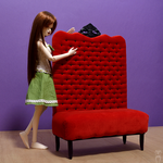 Red Sofa MSD size by Katja-dollab