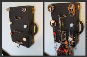 Suitcase Jewelry Rack by Little-Solace