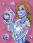 Glass Girl Addendum - Blowfish in a Bubble by Shira-chan