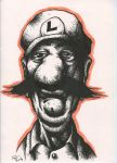 trash luigi by Lofo