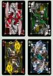 "Playing cards ""Animagique"". Jacks by Inshader"