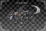 [Closed] Adoptable: War Robolf by MySweetQueen