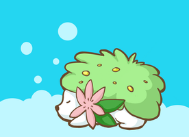 Shaymin by atomicspacemonkey