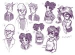 Futurama sketches by FoxShift