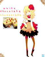 Sweet Girls: white chocolate cheesecake by Koolaid-Girl