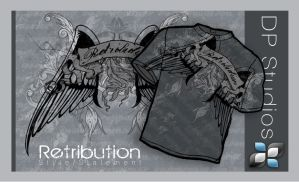 Retribution Tee by DigitalPhenom