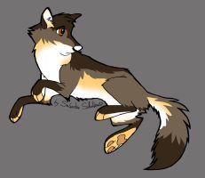 New Wolf Adoptable 1 - CLOSED! by StanHoneyThief
