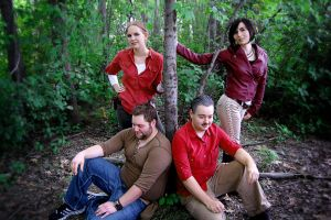 Uncharted Cosplay The Heroes by LadyofRohan87
