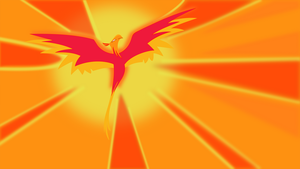Phoenix vector wallpaper by Dutchcrafter