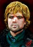 Tyrion Lannister by gambitgmb