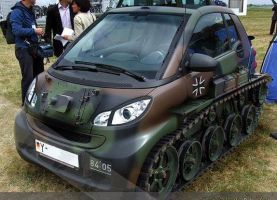 Mercedes smart tank by AkatsukiR3DBL4CK