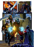 Heroes for Hire page by GreeneLantern