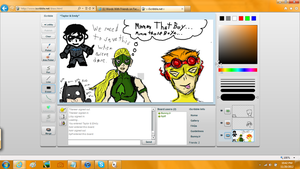 YJ iScribble fun by DCFanGirl