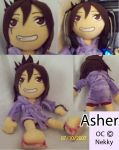 Custom Plushie: Asher -OC- by Necronomical