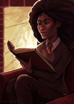 A Bit of Light Reading by reynagroff