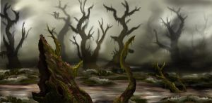 Swamp by bradlyvancamp