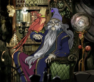 Dumbledore by Sally-Avernier