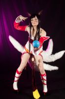 Ahri Cosplay - League Of Legends (LoL) ~15 by LyoeItsumi
