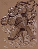 NYComicCon Raphael by MichaelDooney