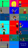 Resident Evil Idol Characters by STARSMember930