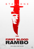 Rambo: First Blood alternative poster by mightybeaver