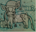 happy holidays! by silvaglace