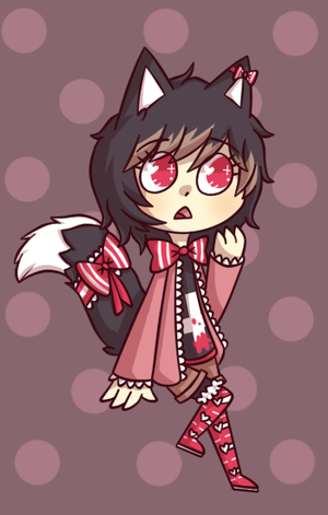 Kitty cutie cheeb by Maohart