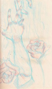 hand in unloveable hand by apolly0n