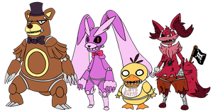 FNaF Pokemon by Link8342