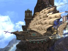 Lineage 2 - Airship by Brownfinger